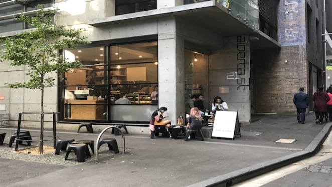 Corner shop in Sydney CBD leased to cafe snapped up before auction