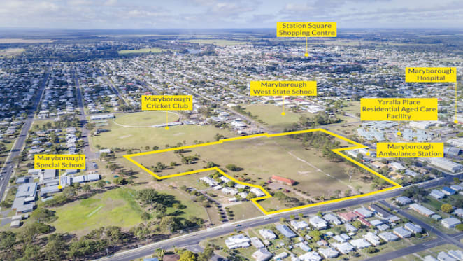 Maryborough development site hits the market