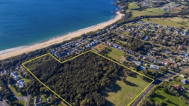 Coastal land holding at Diamond Beach for sale