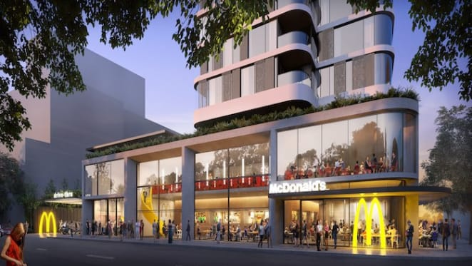 McDonald's moves into apartment development joint venture with Stockland