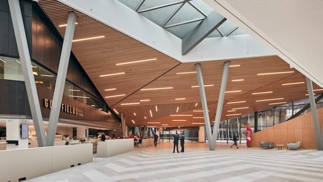 Melbourne's South Wharf precinct and Convention and Exhibition Centre complete