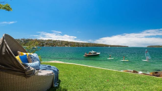 Former rugby union boss lists luxury Mosman waterfront home