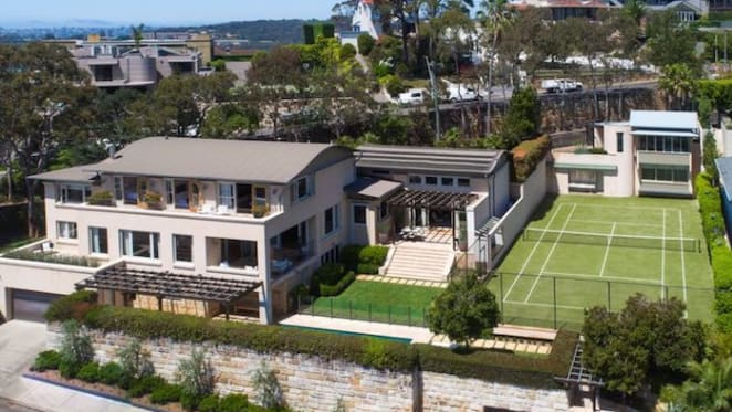 The Stenmark's join the downsizing Mosman property merry go-round