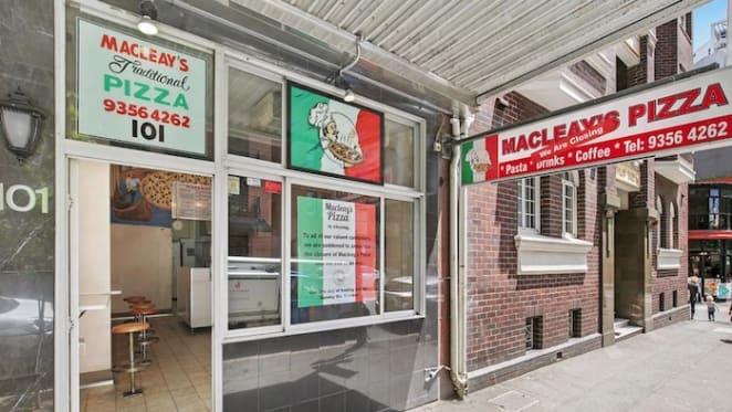 Family-run pizza shop in Potts Point closes