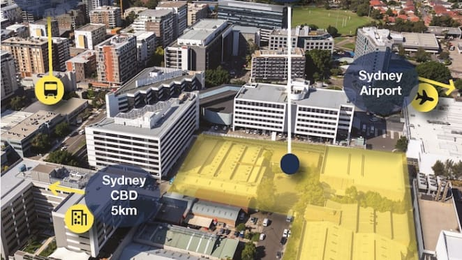 Site approved for office development in Sydney's Mascot listed: Savills
