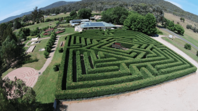 Brookfield Maze in central Victoria listed with $1 million hopes