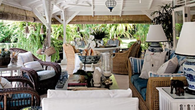 Australian designer Stuart Membery lists Bali villa Monkey Palm