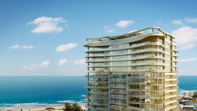 Luxury Mermaid Beach apartment on the sand for sale
