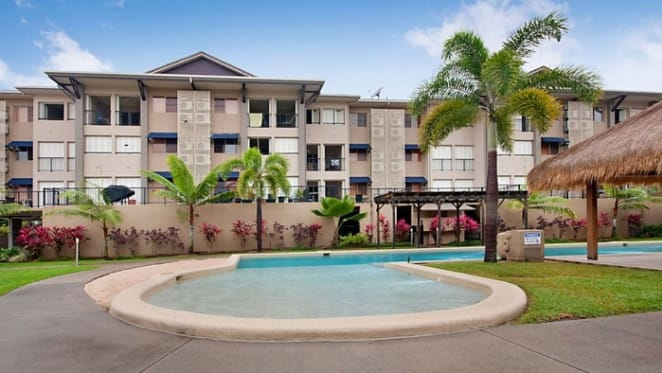 Two bedroom Mooroobool apartment listed by mortgagee