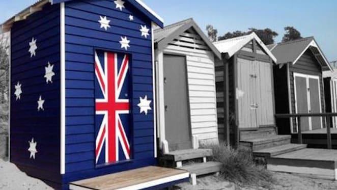 Well-flagged iconic bathing box on Mornington Peninsula for sale