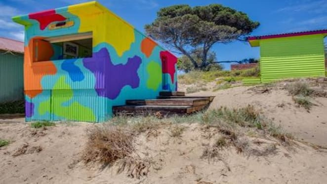 Mornington bathing box listed for sale after $150,000 top weekend bid
