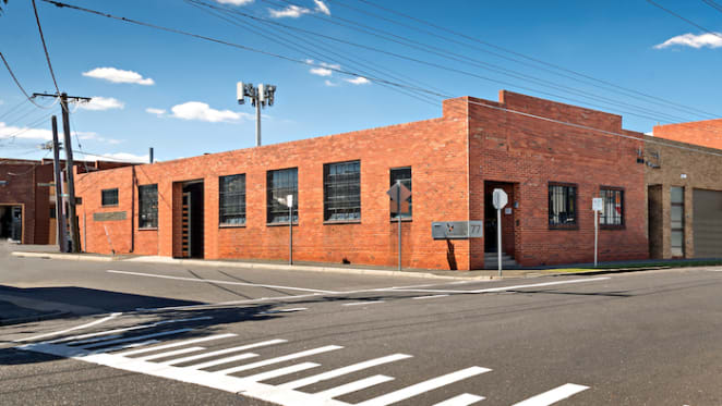Warehouse turned office space in Melbourne's Richmond listed for auction