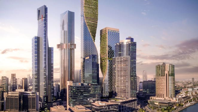 Southbank by Beulah to become Australia's tallest vertical village