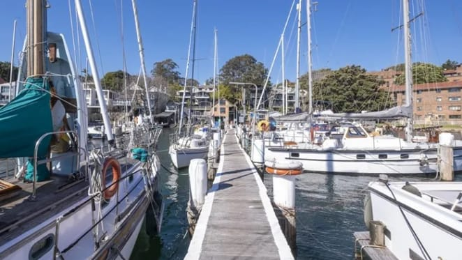 Cameron's Marina in Balmain listed for first time since 1960s