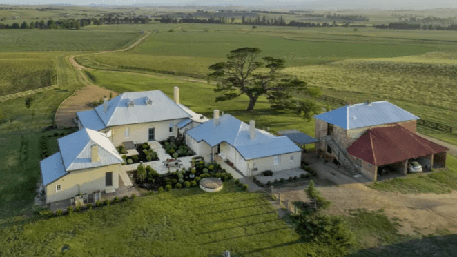 Early 1800s Macquarie farm at Bathurst listed for July auction