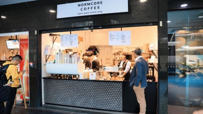 14 sqm York Street, Sydney Normcore Coffee premises sold for $112,143 per sqm at auction