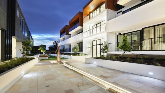 Northcote Hill townhouses completed