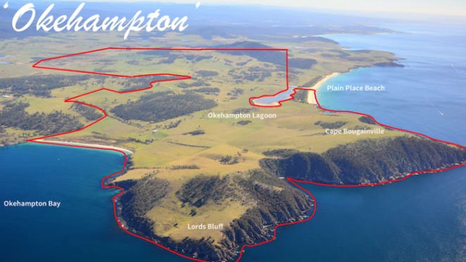 Okehampton on Tasmania's Tribune coastline sold for $8 million plus