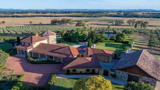 Olio Mio olive estate in the Hunter Valley listed