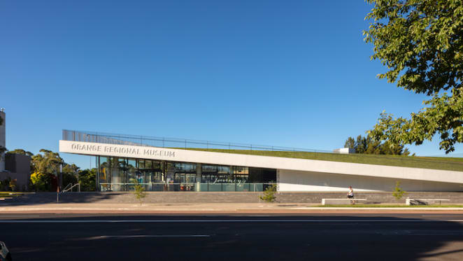 Crone wins PIA's urban design award for work on Orange Regional Museum