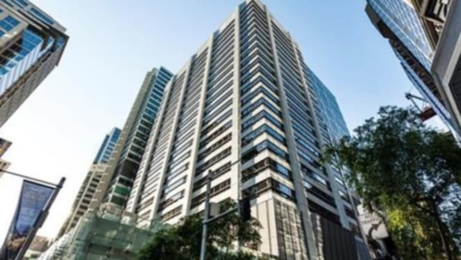 Two level Sydney CBD office space for lease through Savills