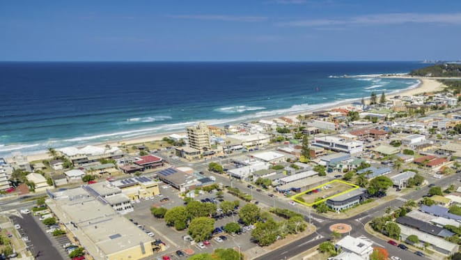 Palm Beach, Gold Coast development site for sale