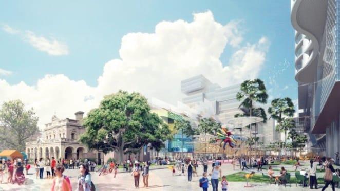 Local council lays out new design for $2 billion Parramatta Square revamp