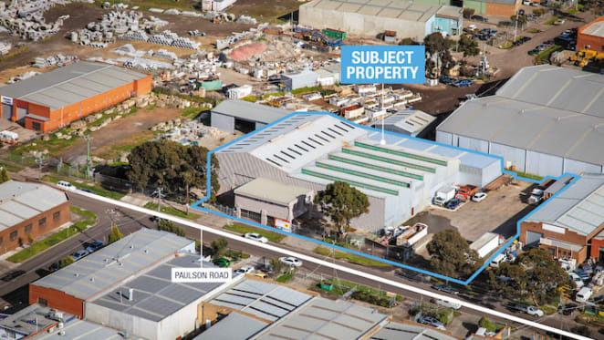 Warehouse in Melbourne's Campbellfield snapped up for $1.8 million