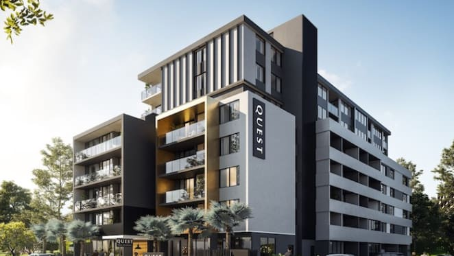 Breaking ground at Quest's first Gold Coast Project