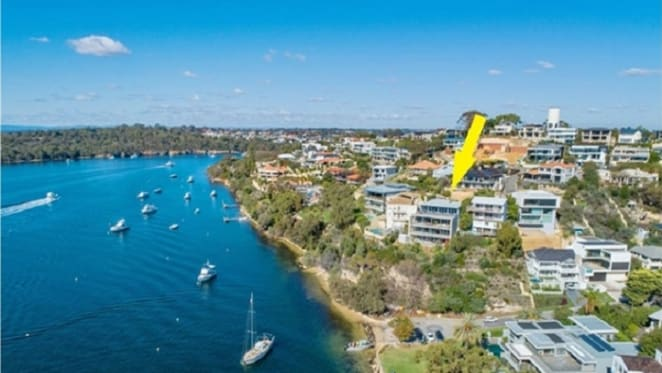 Cliff side Perth home on Millionaires Row listed