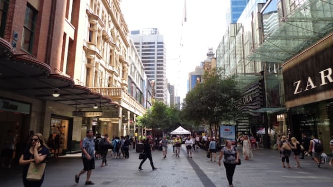 Sydney's Pitt Street Mall the seventh most expensive shopping strip in the world