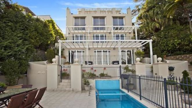 Point Piper sinkhole trophy home for sale