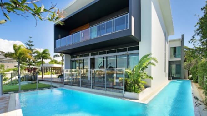 Indian ponzi group Pearls' Gold Coast waterfront house waits for buyer