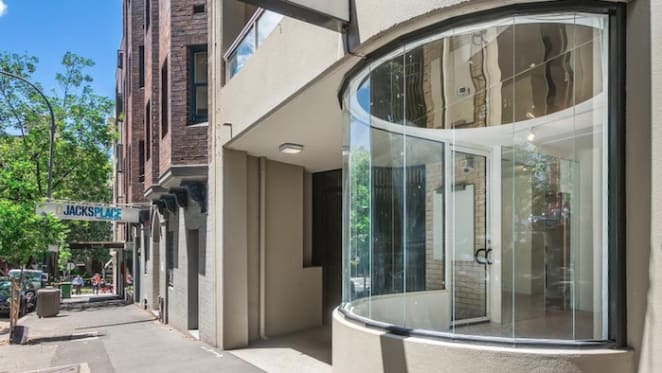 Retail space in Sydney's Potts Point set to go under the hammer