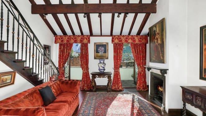 Late Mardi Gras costume designer Ron Muncaster's Darlinghurst house listed
