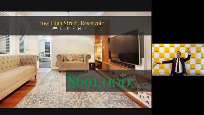 Reservoir home bought unseen via online auction