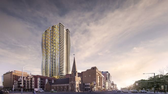 Adelaide's highest residence in Realm Adelaide for sale at $5.5 million