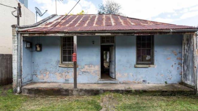Crumbling Redfern shacks hit the market at $3 million