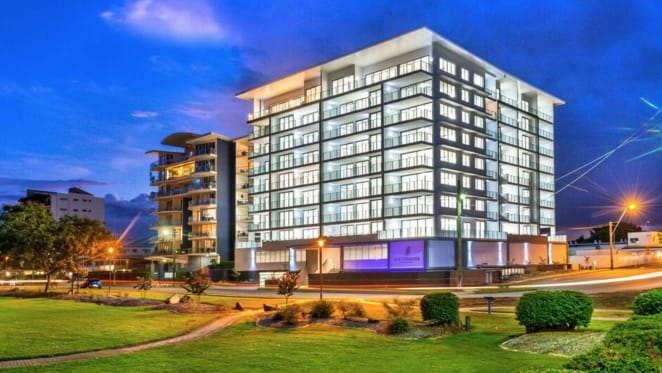 Waterfront apartment complex in Rockhampton complete