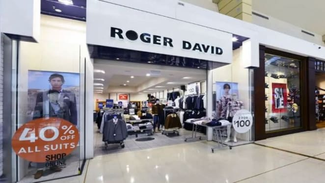 Menswear chain Roger David shutting down leaving behind 56 empty storefronts