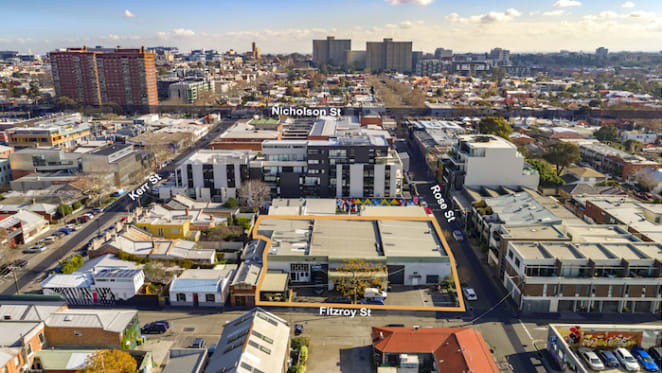 Fitzroy site with prospects for apartments listed