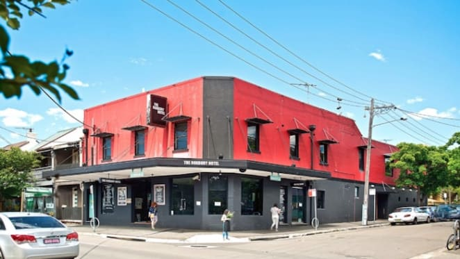Former hotel site in Sydney's Glebe up for sale