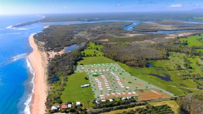 Approved beachfront tourist accommodation park near Great Barrier Reef listed
