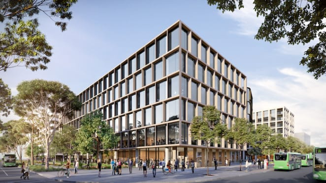 Construction starts at Canberra's first zero emission office building