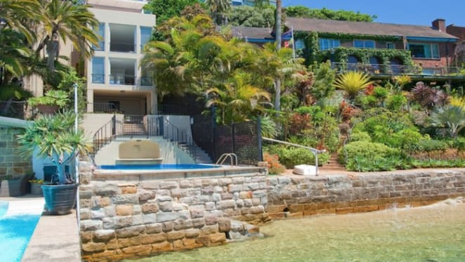Sydney Harbour's skinniest harbour front listed in Darling Point