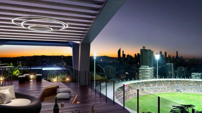 Australian first Skystand provides new views for Brisbane apartment buyers