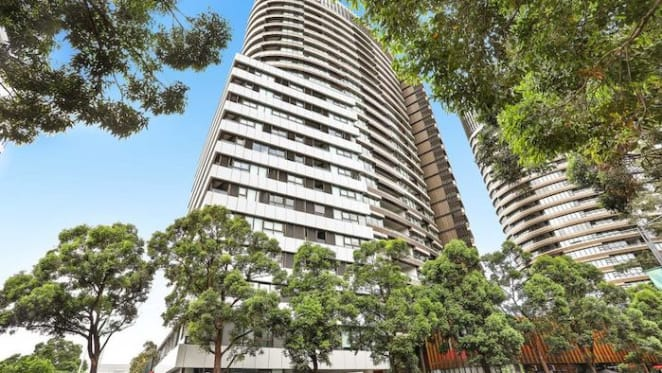 Olympic Park mortgagee apartment in Australia Towers listed