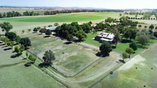 Charles Curran lists farm at Canowindra