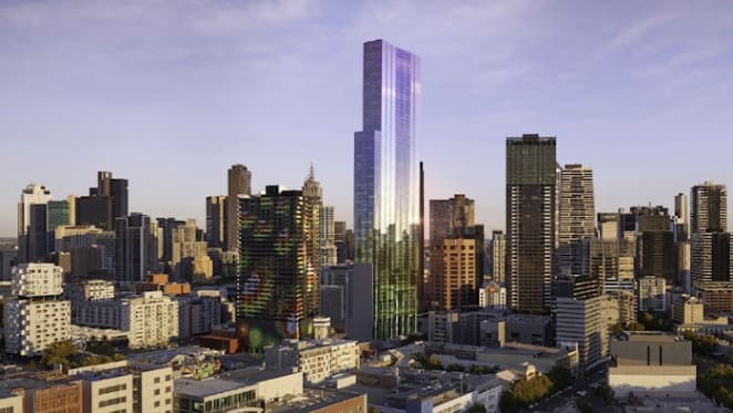 Swanston Central Chinese developer's assets frozen by ATO over $103m tax bill