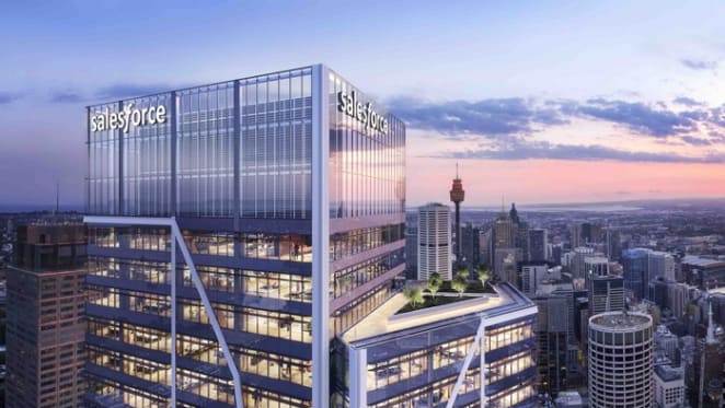 New Salesforce Tower Sydney to be tallest building in the city